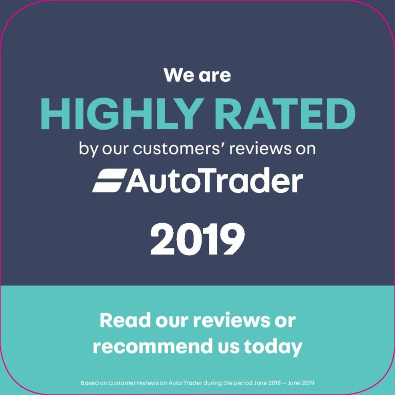Auto Trader Highly Rated Second hand car dealer